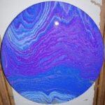 tableau peinture intuitive canalisation pyramide